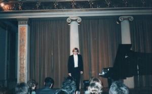 Alphonse Sauer im Brahmssaal